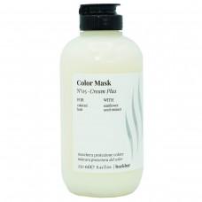 Легкая защитная маска для ламинирование волос и окрашенных волос (PH=2.5-3,5) FarmaVita COLOR MASK №05 - Cream Plus 250мл