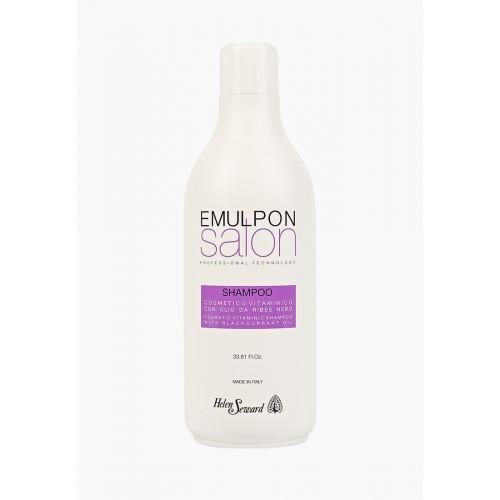 Витаминизирующий шампунь с маслом черной смородины Helen Seward EMULPON Salon Vitaminic Shampoo 1000мл