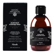 Увлажняющий шампунь-гель для волос и тела NOOK MAGIC ARGANOIL Secret 250мл