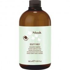 Шампунь для вьющихся волос NOOK BEAUTY FAMILY Curl & Friz 500мл