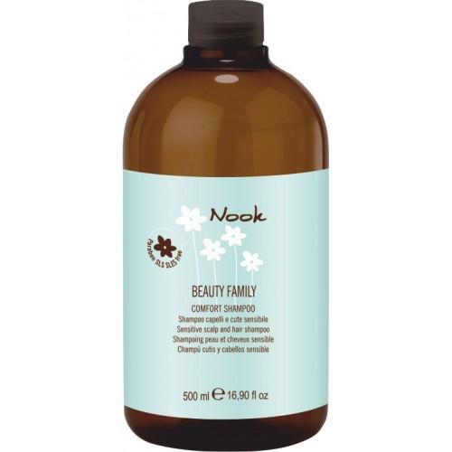 Шампунь для чувствительной кожи головы NOOK BEAUTY FAMILY Comfort 500мл