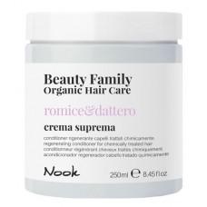 Регенерирующий кондиционер для окрашенных поврежденных волос NOOK BEAUTY FAMILY ORGANIC 250мл