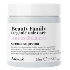 Регенерирующий кондиционер для окрашенных поврежденных волос NOOK BEAUTY FAMILY ORGANIC 75мл