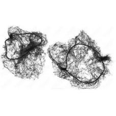 Сеточка-паутинка для причесок черная (2 шт/уп)