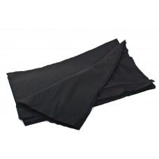 Салфетки Тимпа 20*20 гладкие черные (нарезные 50 шт)
