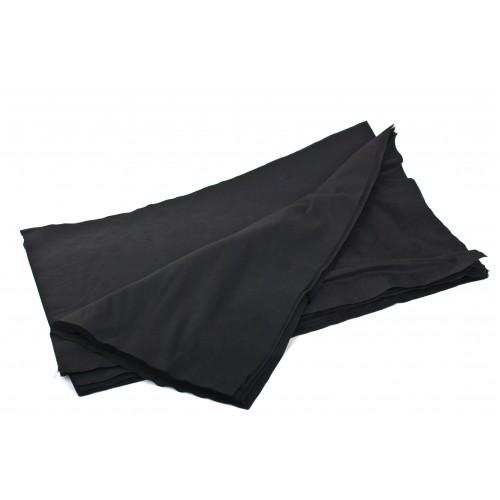 Полотенца Тимпа 40*70 гладкие черные (нарезные 50 шт)