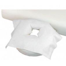 Чехол на подголовник с вырезом для лица 30х40 см (50 шт)