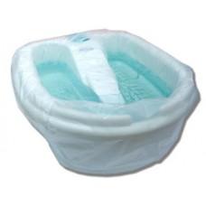 Чехол на ванночку для педикюра (резинка отдельно) Тимпа 100*75 (100 шт)