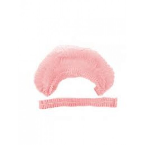 Шапочка гофре розовая (100 шт/уп)