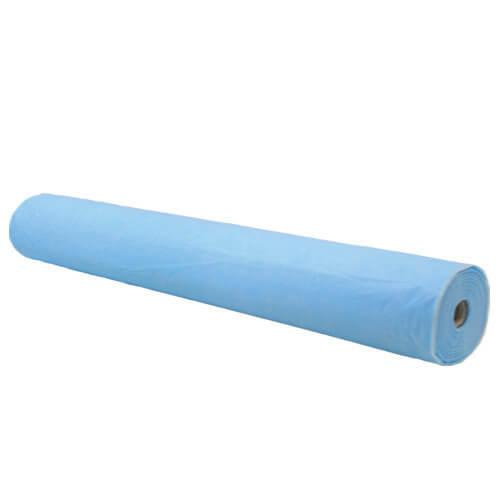 Простынь на кушетку Тимпа (рулон  500*0.6 м) голубая