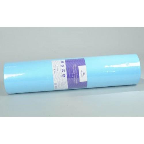 Простынь спанбонд Monaco (0.6*1.8 м) голубая перфорация (50 шт)
