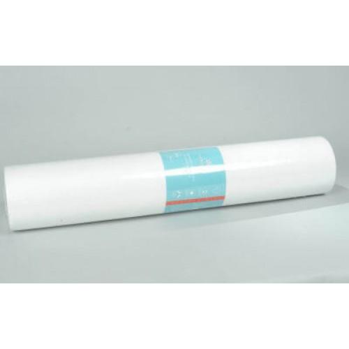 Простынь спанбонд Monaco (0.8*1.8 м) белая перфорация (50 шт)