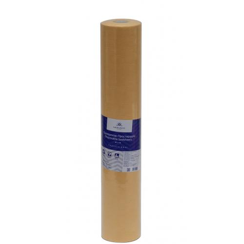 Простынь спанбонд Monaco (0.8*1.8 м) желтая перфорация (50 шт)