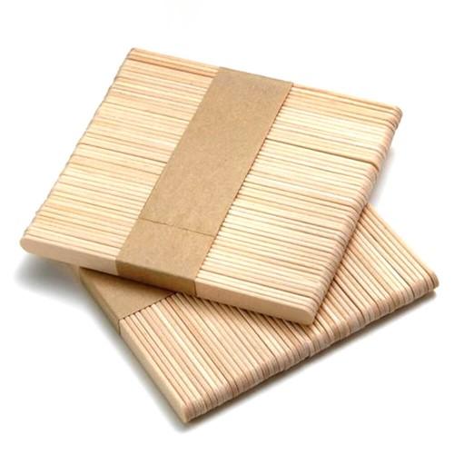 Шпатель-палочка деревянный узкий (50 шт)